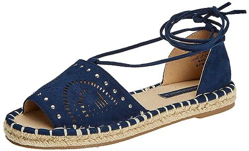 9883223, Sandalias con Plataforma para Mujer, Azul (Gamma Azules), 39 EU Springfield