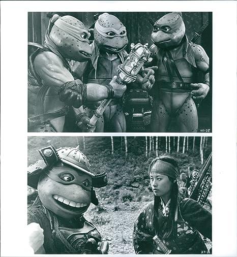 Vintage photo de Leonardo, Miguel Ángel, Donatello, Raphael ...
