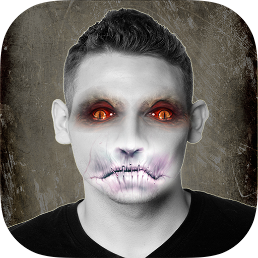 DemonFaced - Scary Halloween Style Monster Photo Booth (Halloween Photo Booth App)