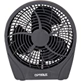 Optimus F-0622 6-Inch 2-Speed Personal Fan, Charcoal