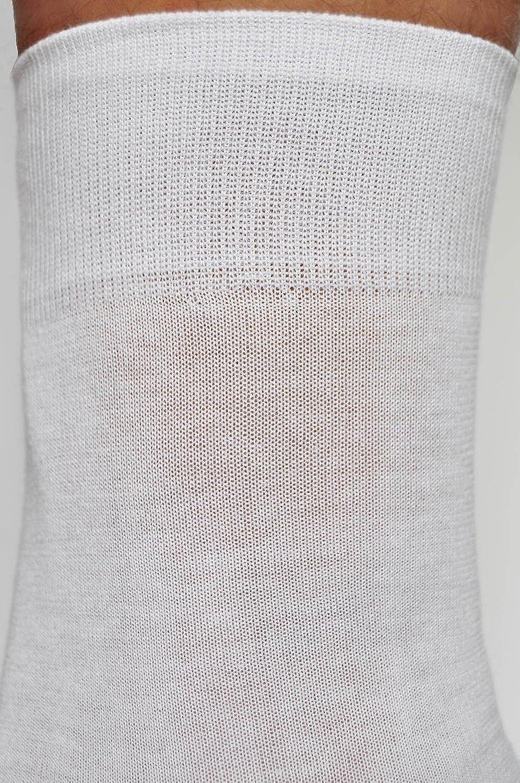 623c618023d vitsocks chaussettes 100 COTON homme blanches noires ou grises (Lot de 3)  unies fines confortables de qualité  Amazon.fr  Vêtements et accessoires