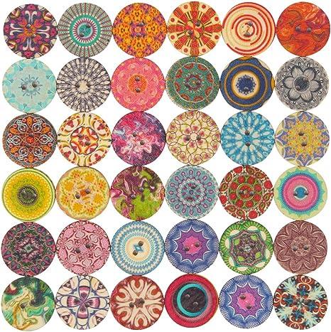 100 Coloré Fun Mixte Aléatoire Craft boutons Scrapbooking couture Arts