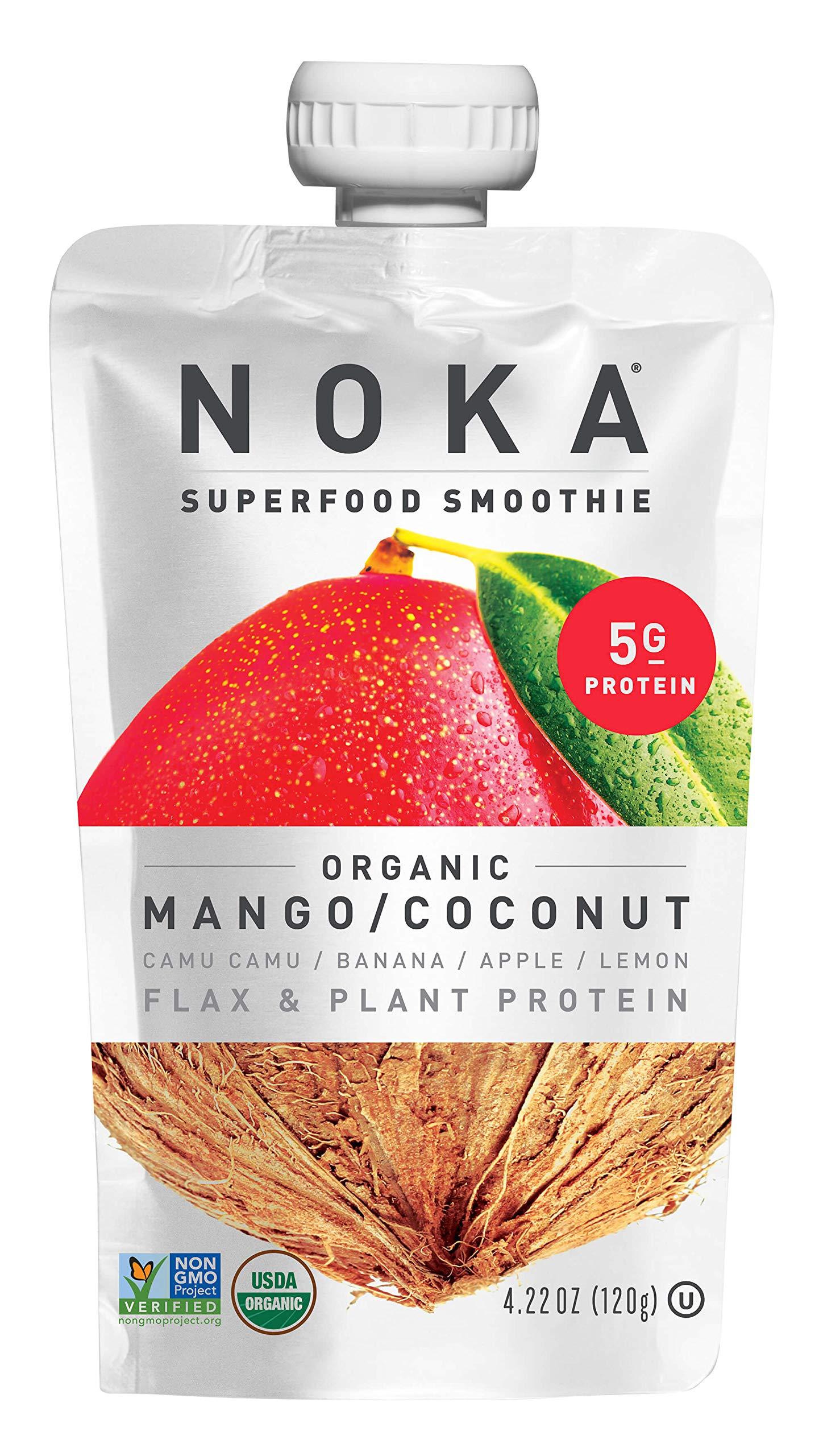 29a202e68ac90 Amazon.com : NOKA Superfood Pouches (Mango Coconut) 6 Pack   100 ...