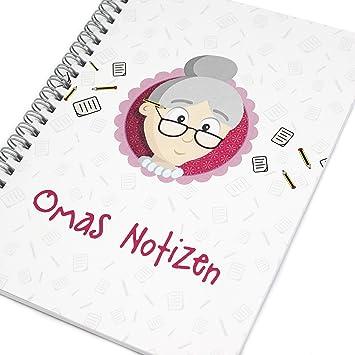 Oma Geschenk Weihnachten Notizbuch Oma Weihnachtsgeschenk Oma