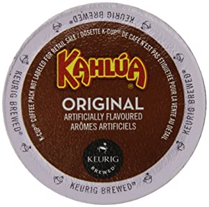 Kahlua Original, K-Cup Portion Pack for Keurig K-Cup Brewers 24-Count(Pack of 2)