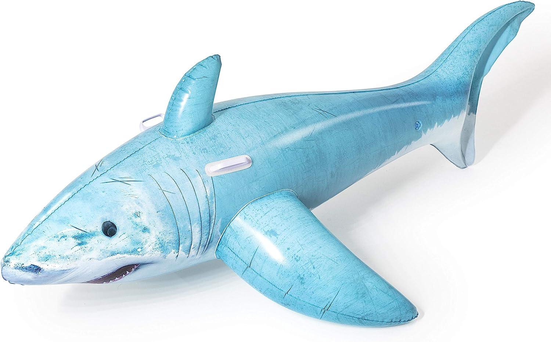 BESTWAY 41405 - Tiburón Hinchable Infantil 183x102 cm
