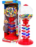 """Sweet N Fun Light and Sound Spiral Gumball Bank with 340G Gumballs, 21"""""""