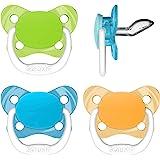 Amazon.com: Amazon Brand - Chupete para bebé, diseño de oso ...
