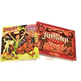 Scooby-doo! Fright at the Fun Park Game and Cardinal Games Jumanji the game Play Anywhere Edition Bundle