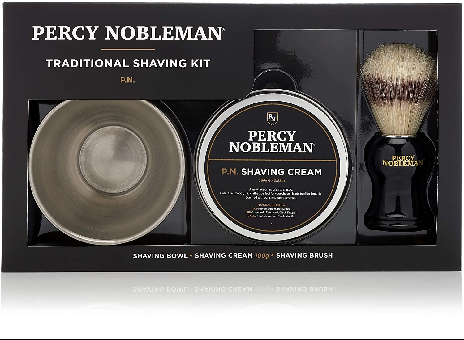 Percy Nobleman Traditional Shaving Kit.