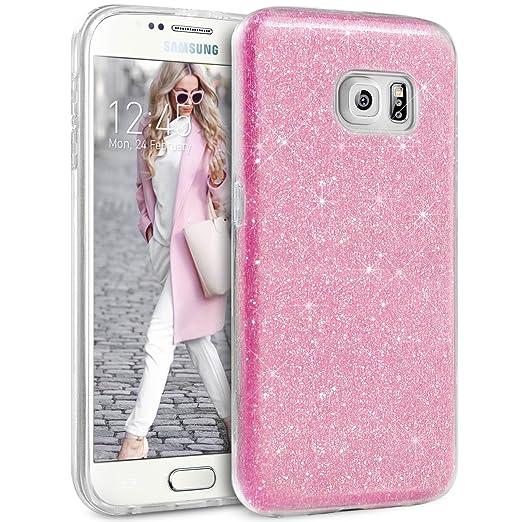 16 opinioni per Cover Samsung Galaxy S6, Custodia telefonica TheBlingZ.® Sparkle Premium Hybrid