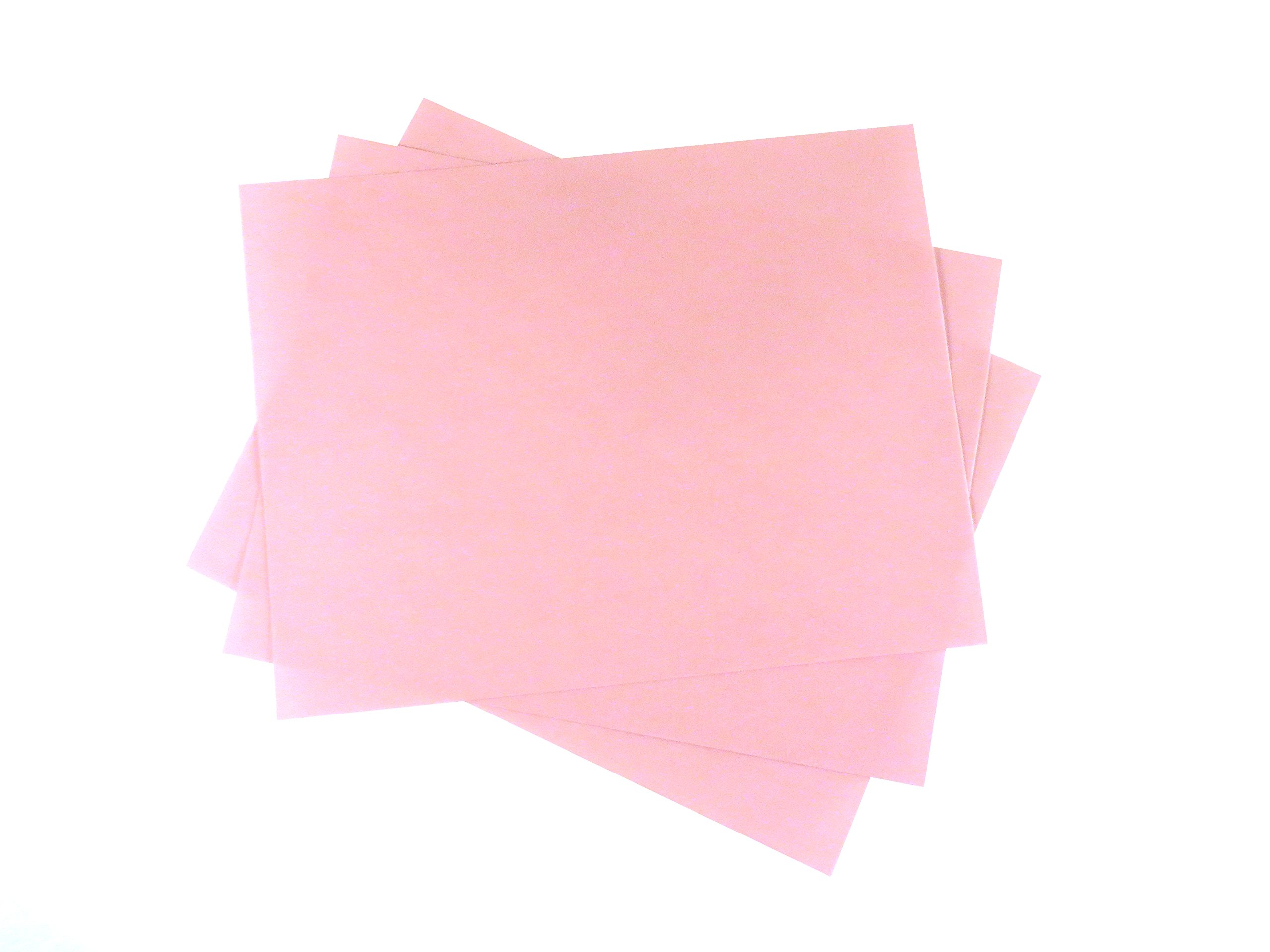 "3 Sheet Bundle 3 Micron (8,000 Grit) PSA Lapping Microfinishing Film Aluminum Oxide (OA) 8 1/2"" x 11"" 266Xx3"