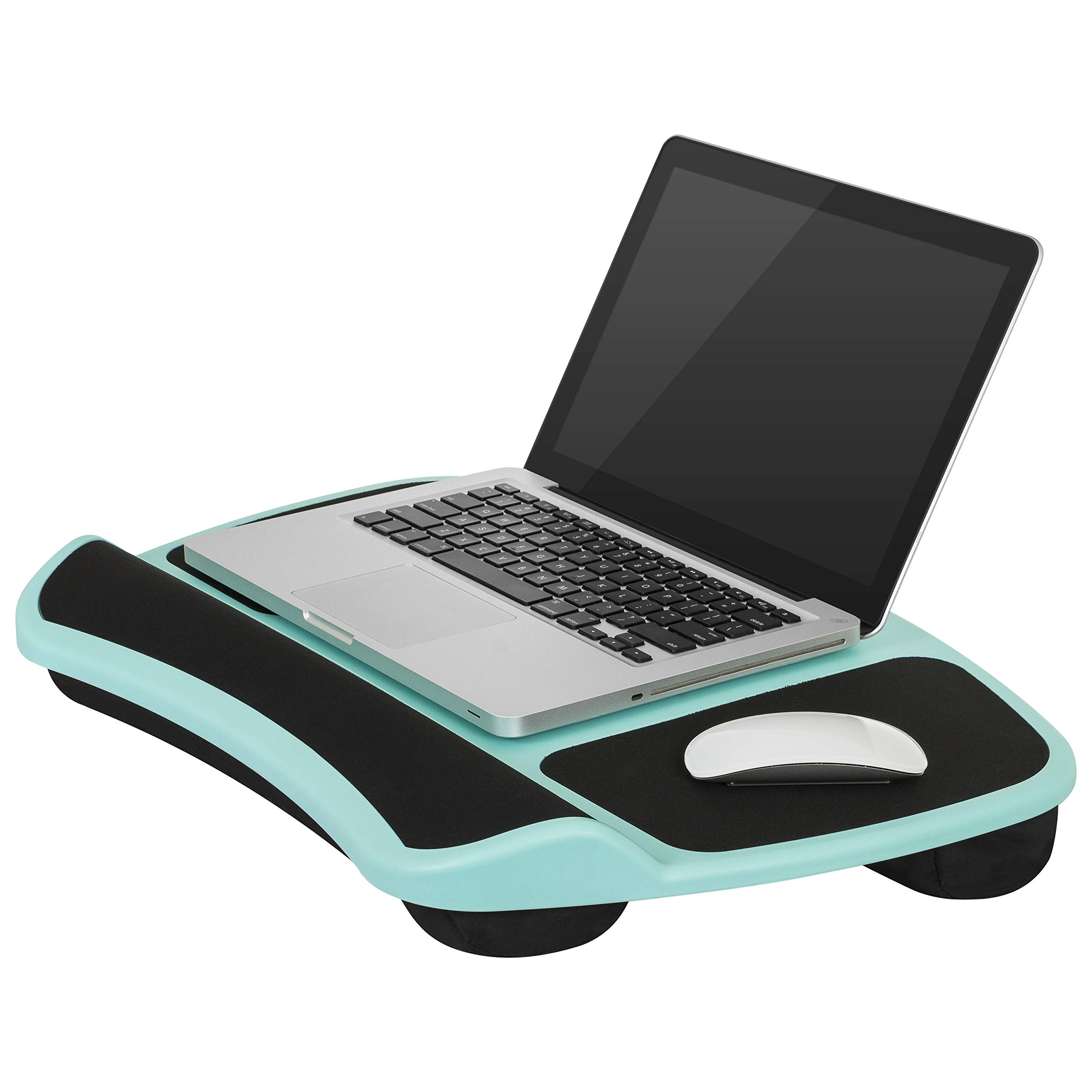LapGear Laptop Lap Desk - Turquoise (Fits up to 15.6'' Laptop) - Style #45499