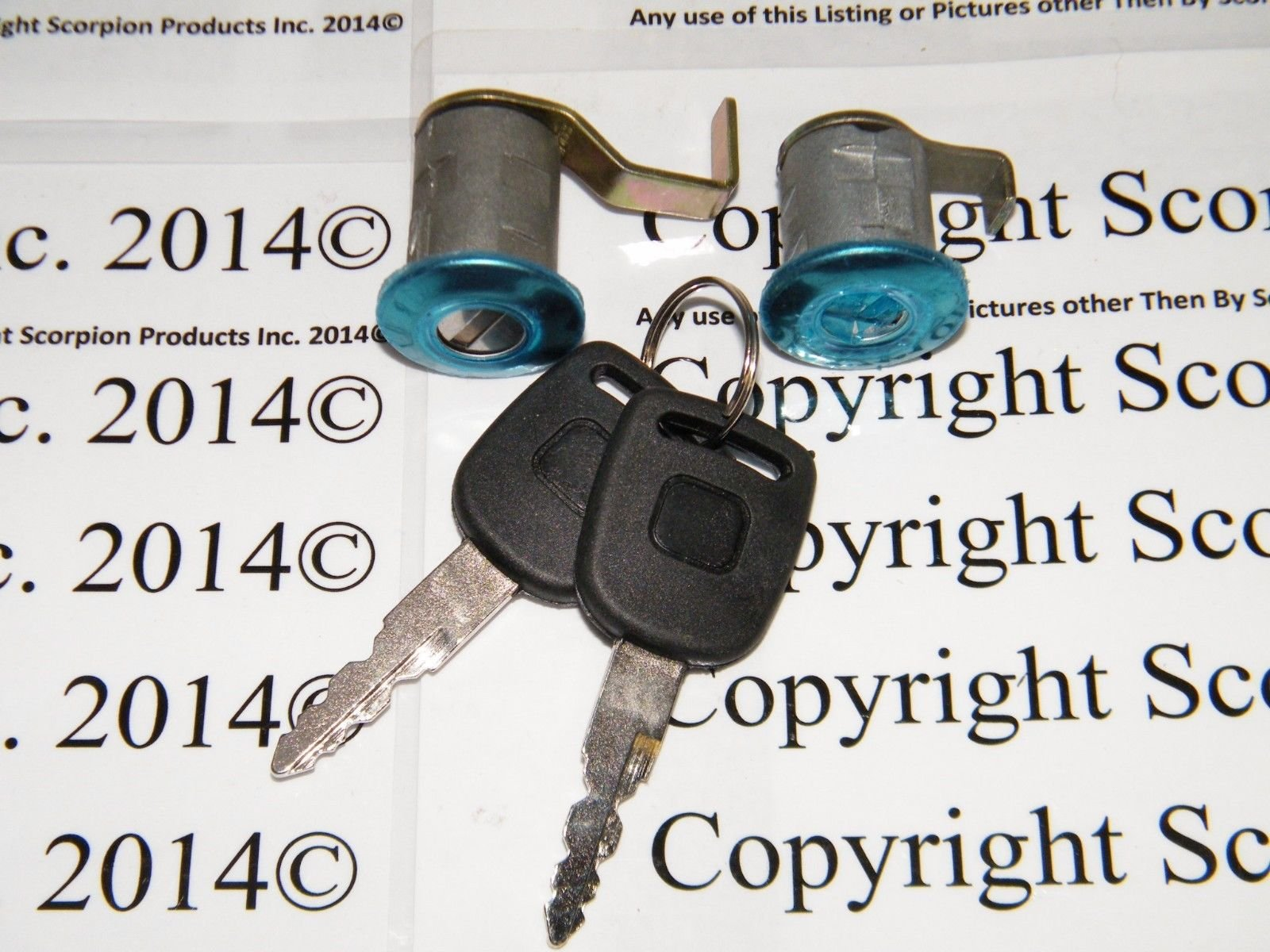 scooter Ignition Switch Key Set 139QMB 50cc GY6 150cc Chinese Parts by scooter (Image #3)