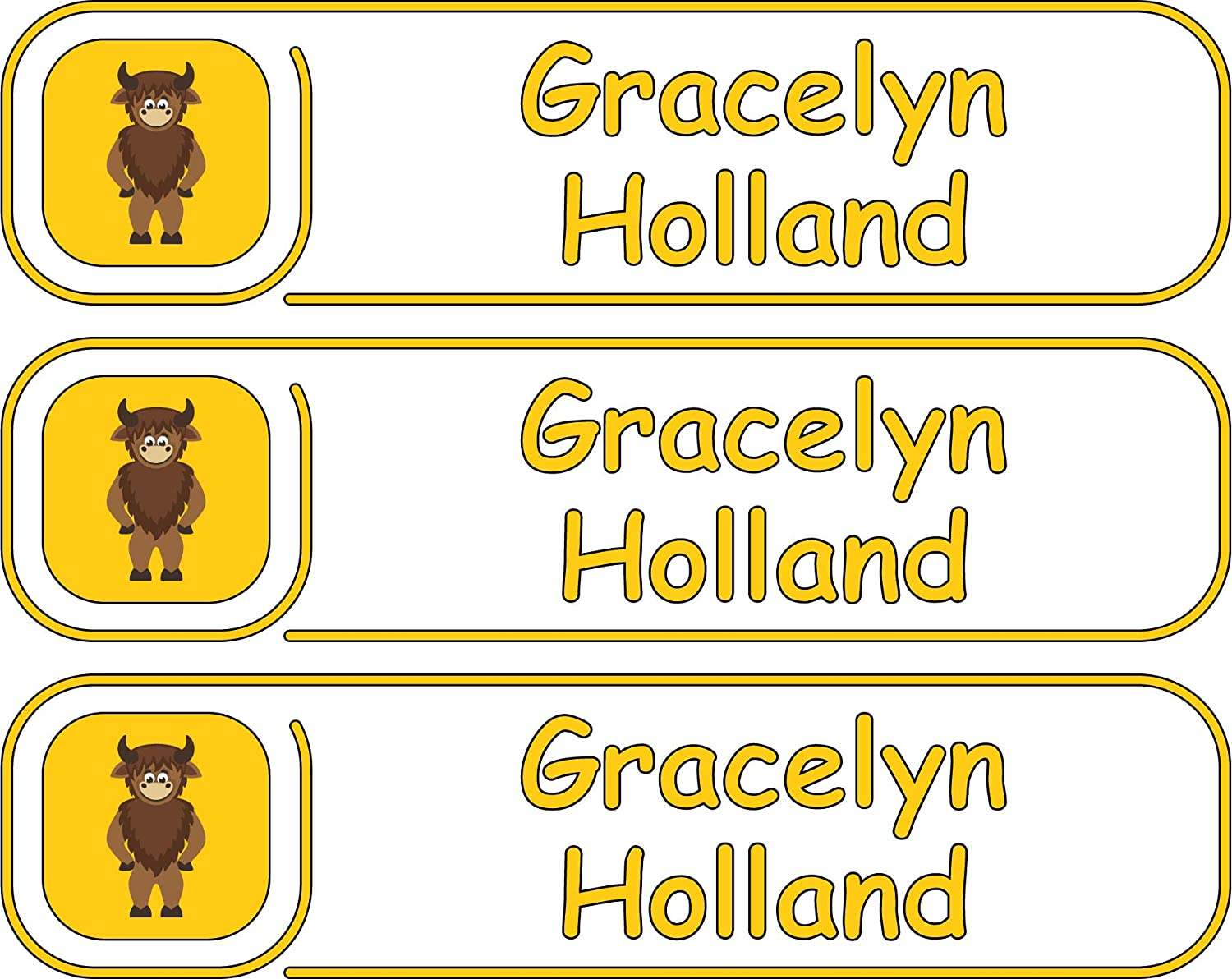 Premium, High Quality Custom Name Labels, Multiple Colors And Sizes, Waterproof, Microwave And Dishwasher Safe, Custom Name Label For School, Daycare Labels, Custom Name Label For Kids, Custom Labels