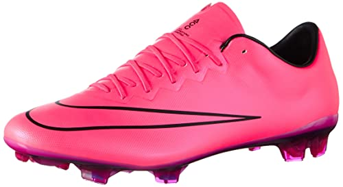 espada adecuado Ocupar  Buy Nike Mercurial Vapor X FG Soccer Cleat (Hyper Pink) Sz. 10 at Amazon.in