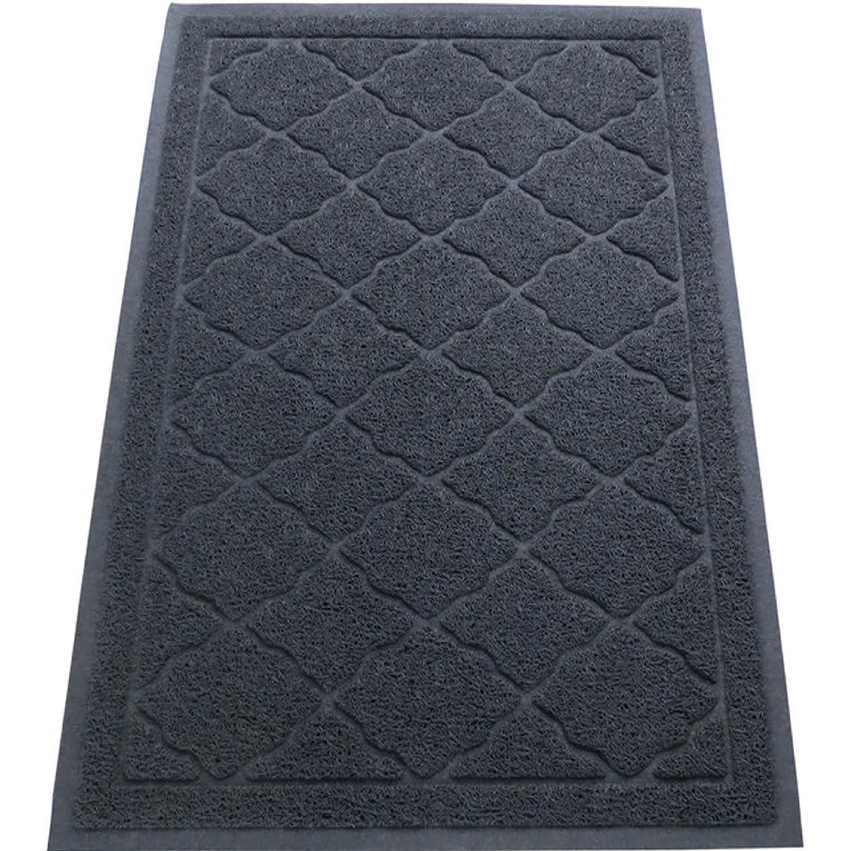 Cat Litter Mat XL Slate Gray Doormat Rug