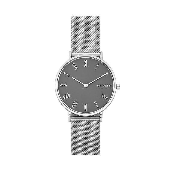 ec30554d7bad Skagen Reloj Analogico para Mujer de Cuarzo con Correa en Acero Inoxidable  SKW2677  Amazon.es  Relojes
