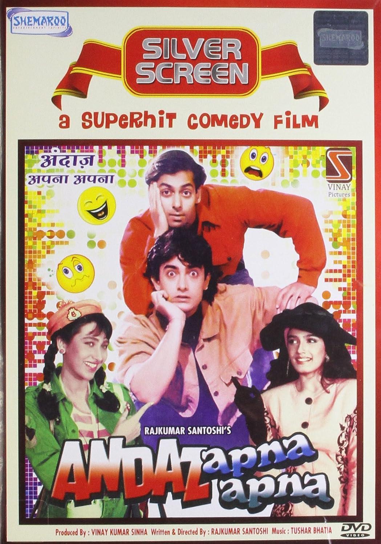 Andaaz Apna Apna 1994  Blu-Ray AVC DD5.1 AC-3 REMUX -SaturnWeb | G- Drive | 38 GB |