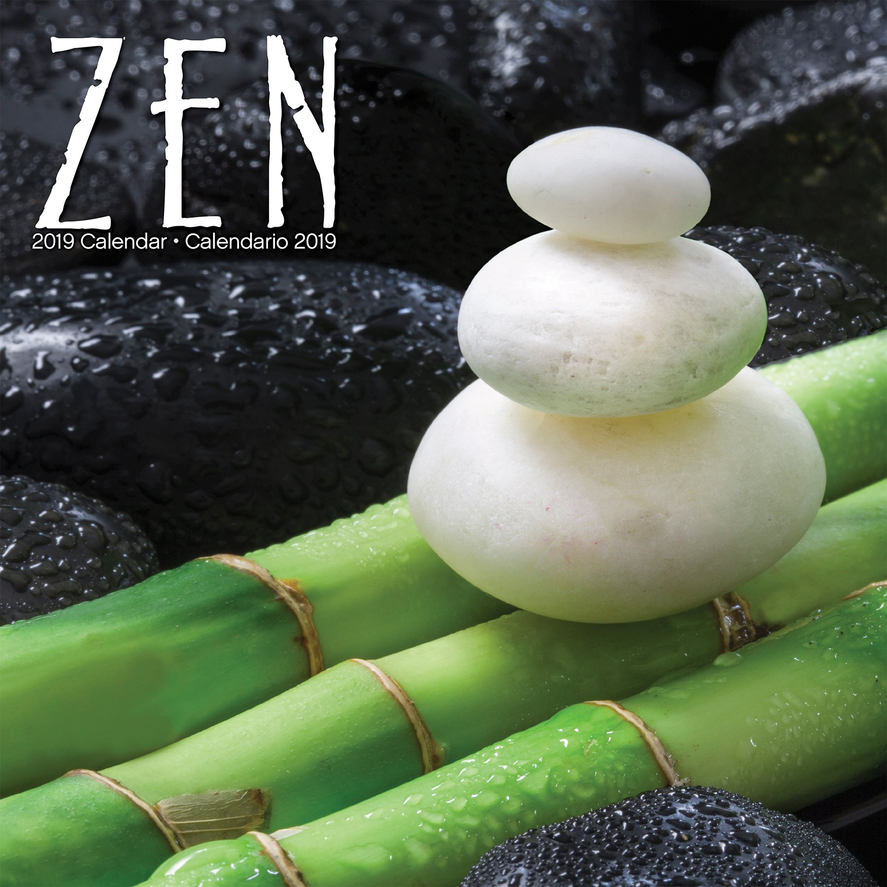 2019 Zen/Zen Wall Calendar (English and Spanish Edition ...