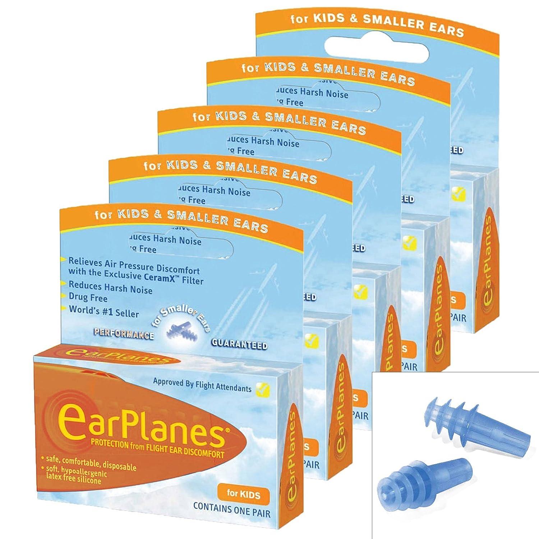 Earplane Kids Smaller Ears Earplugs Protection