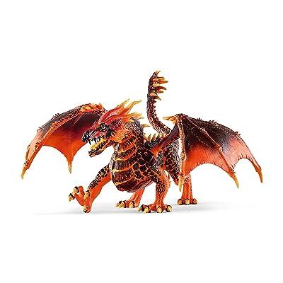 SCHLEICH Eldrador Lava Dragon Imaginative Toy for Kids Ages 7-12: Schleich: Toys & Games