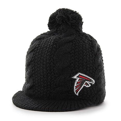 Amazon.com   OTS NFL Atlanta Falcons Female Krista Knit Cap e835c1c740