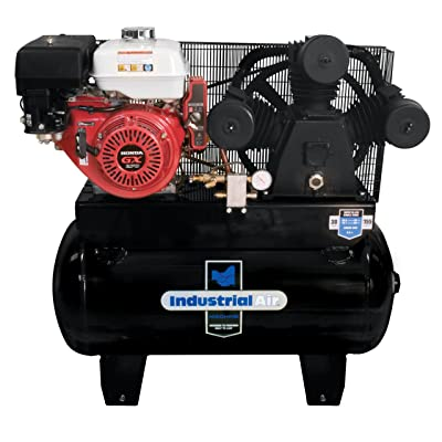 <strong></noscript>Industrial Air IHA9093080.ES 30-Gallon Gas Powered Truck Mount Air Compressor with Electric Start</strong>