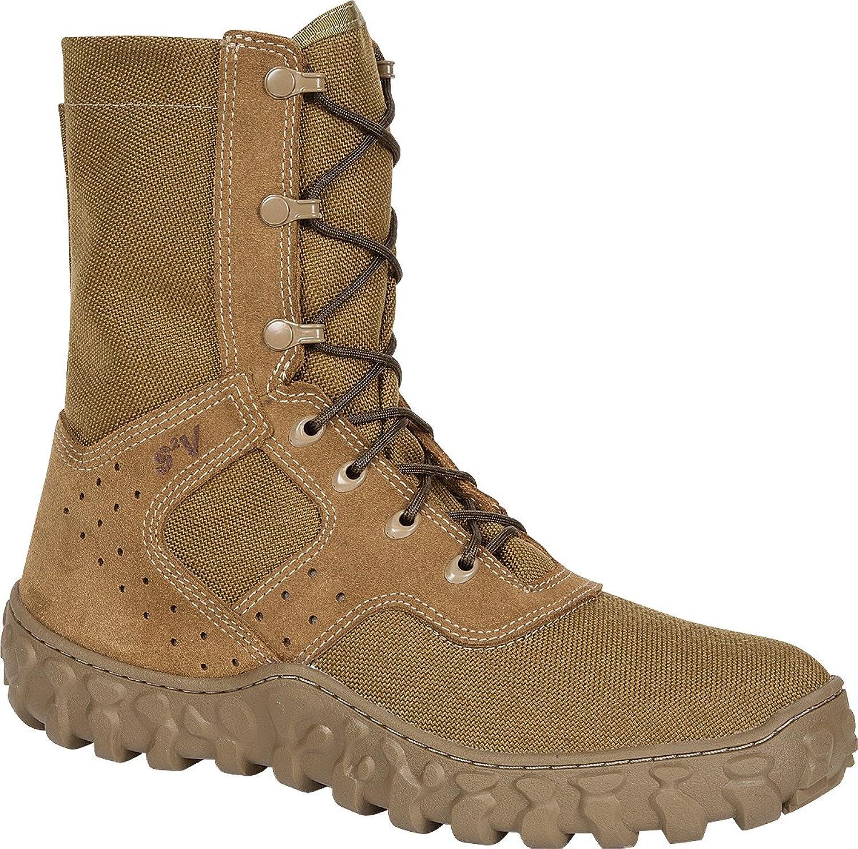 "Rocky Unisex 8"" S2V Uniform Compliant Jungle Boot-FQ0000106"