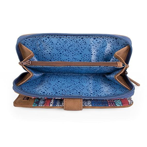 SKPA T - BILLETERO ESTAMPADO, Color Azul: SKPA T: Amazon.es ...