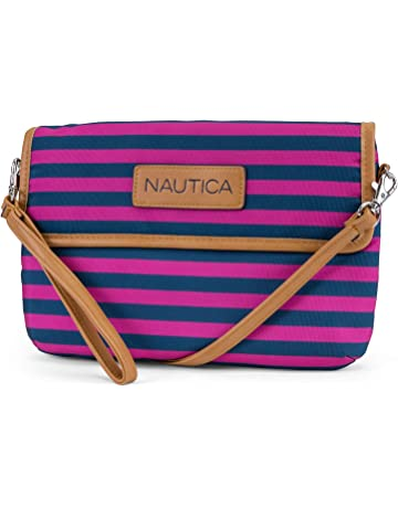 b97ebd9aa0f6 Nautica Perfect Carry-All RFID Blocking Mini Crossbody Wallet Wristlet  Clutch