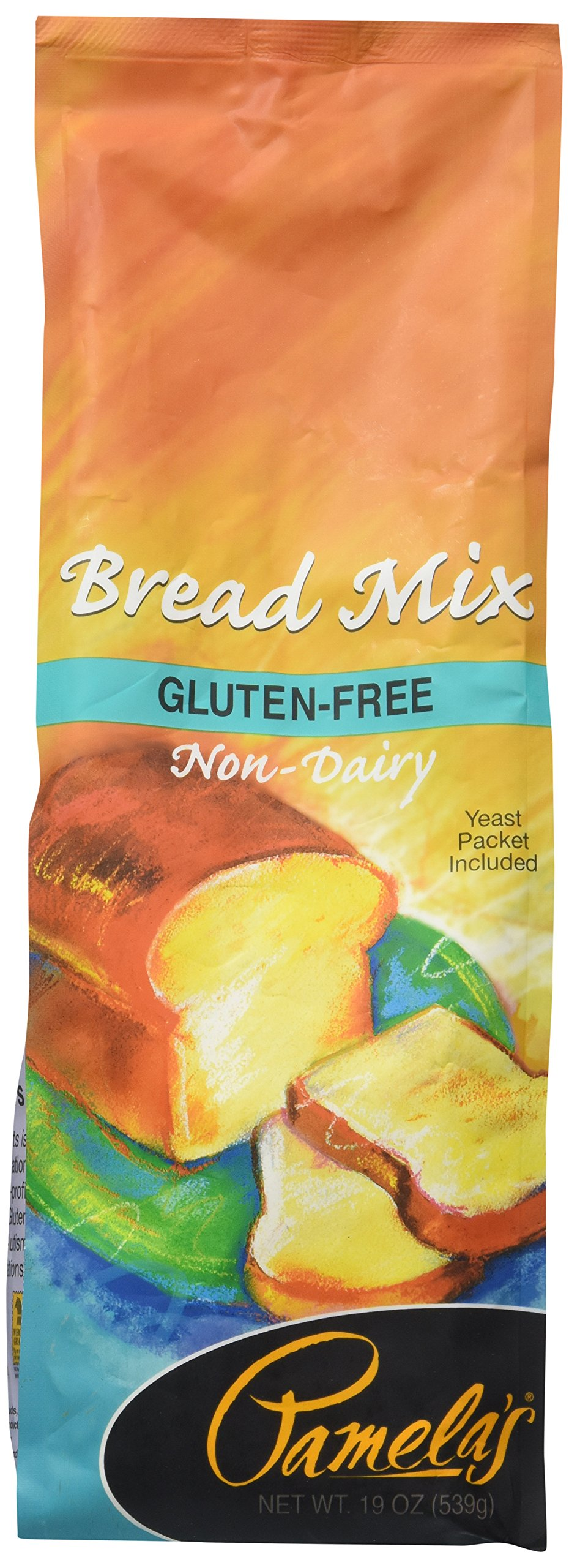 Pamela's Products Wheat-Free & Gluten-Free, Amazing Bread Mix, 19-Ounce Package
