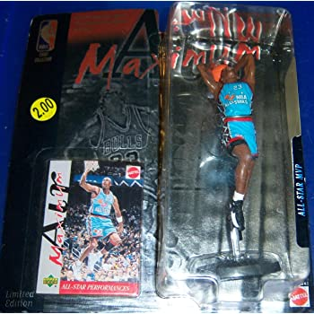 NBA MAXIMUM AIR ALL STAR MVP SERIES MICHAEL JORDON COMMEMORATIVE SERIES by AFLOT2-TOY-JORDON-074299247675-N
