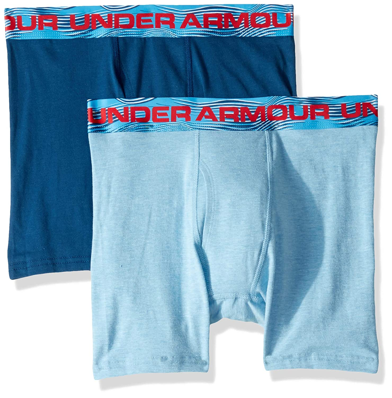 Under Armour Boys 2 Pack Sublimation Print Performance Boxer Briefs