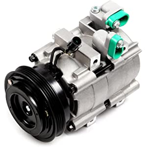 ECCPP A/C Compressor with Clutch fit for 2003-2006 Kia Sorento CO10822C Car