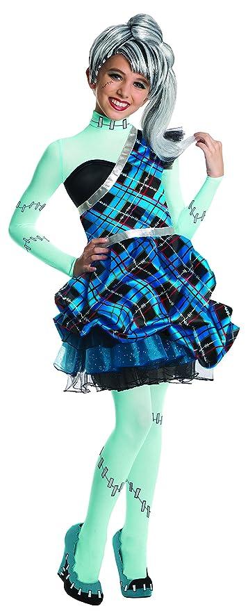 Rubies - Disfraz para niña con diseño Monster High Frankie Stein, talla L (3880991
