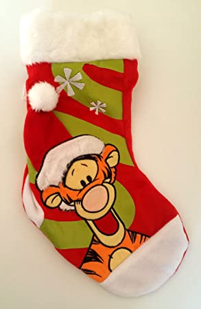 socquettes befana peluche disney winnie the pooh tigger 38 cm - Chaussette De Noel Disney