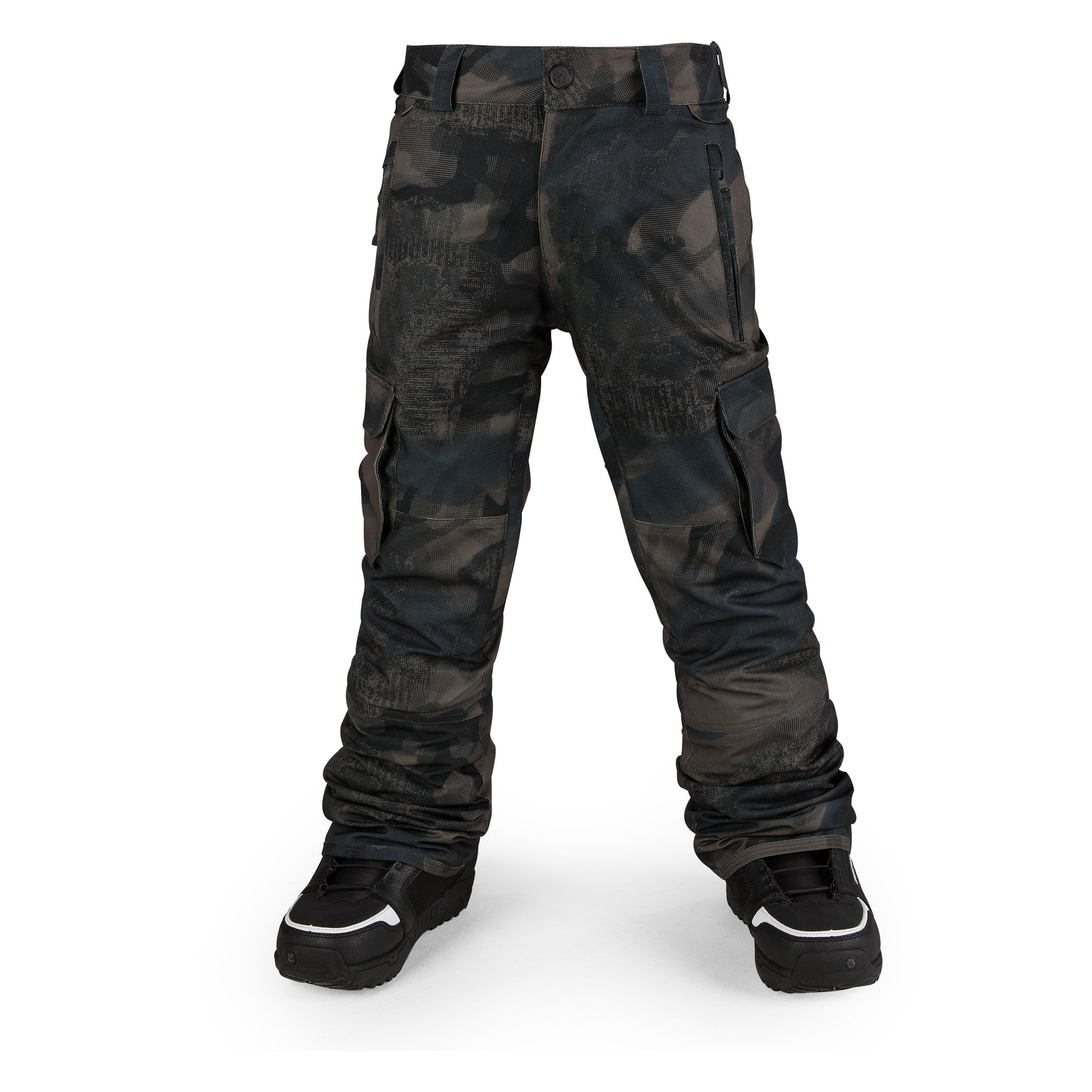 Volcom Big Boys' Cargo Insulated Pant, Camouflage, S by Volcom
