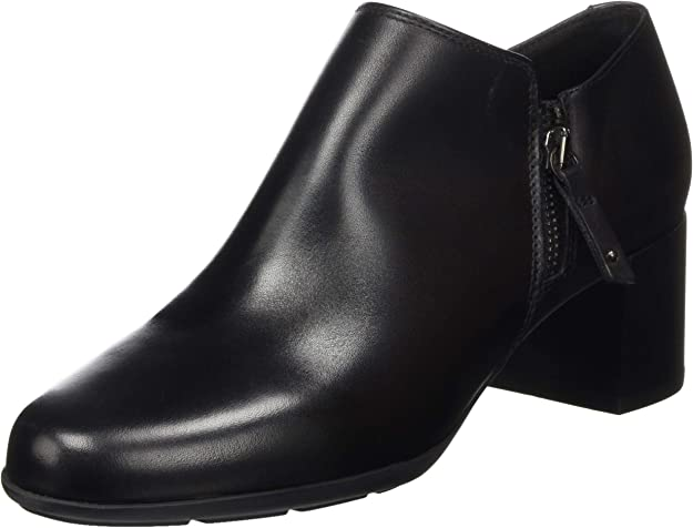 Geox D New Annya Mid C, Ankle Boot Mujer