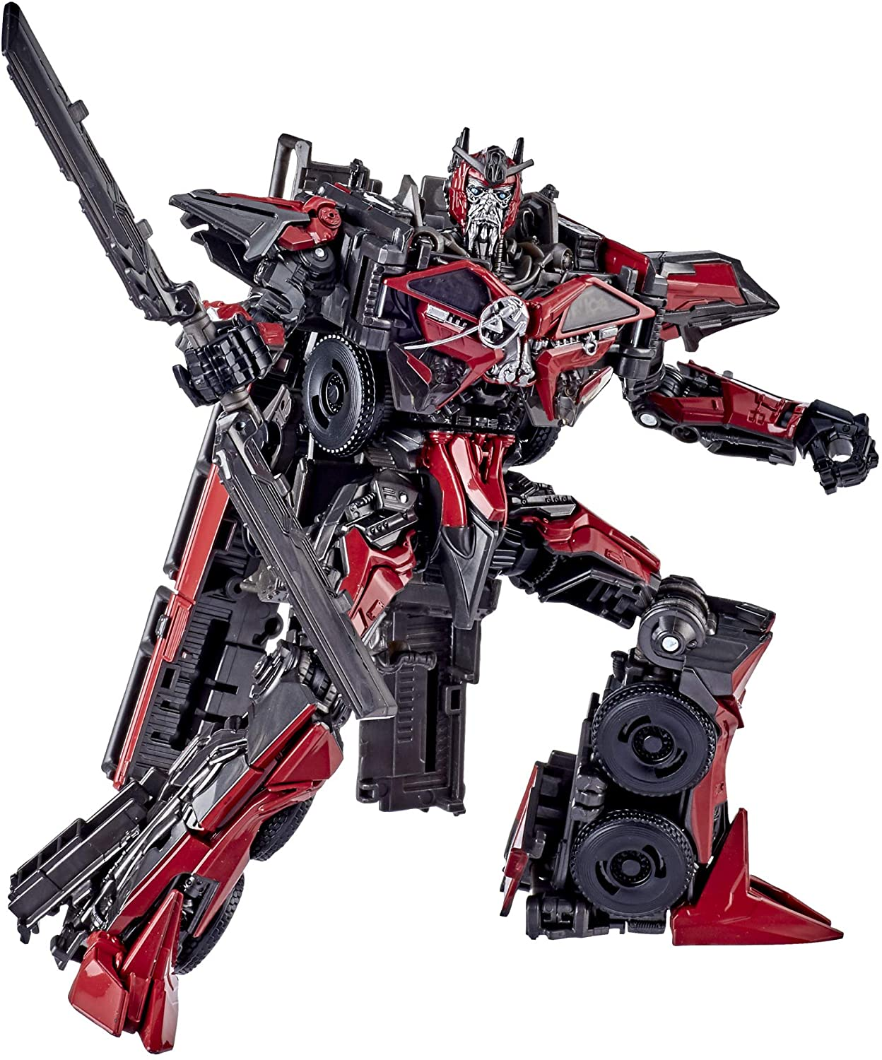 Transformers Toys Studio Series 61 Voyager Class Dark of The Moon Sentinel Prime Action Figure – Adults and Kids Ages 8 and Up, 6.5 inch