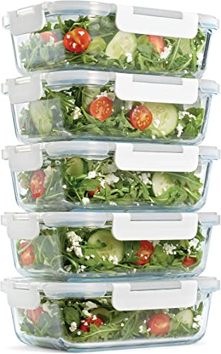Fit & Fresh Glass Containers