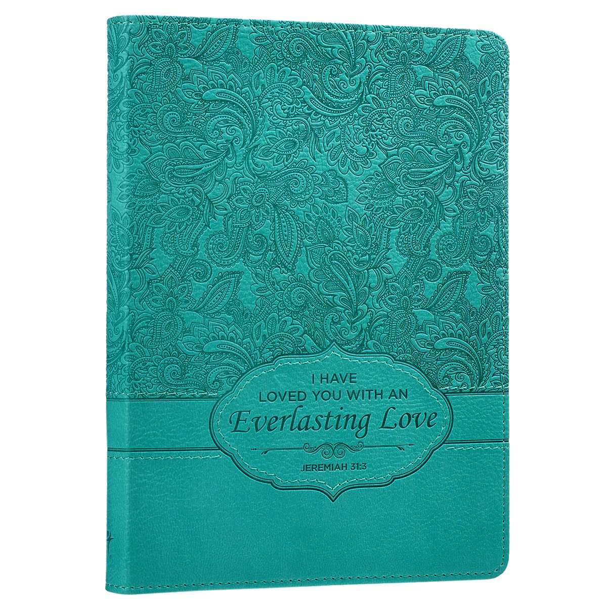 Turquoise Everlasting Love Flexcover Journal product image