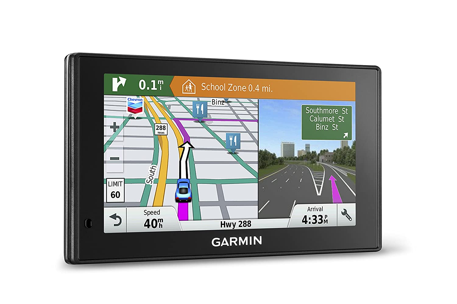 $199.99 (was $369.99) Garmin DriveSmart 60 6-Inch GPS Navigation System with Smart Notifications and Lifetime North America