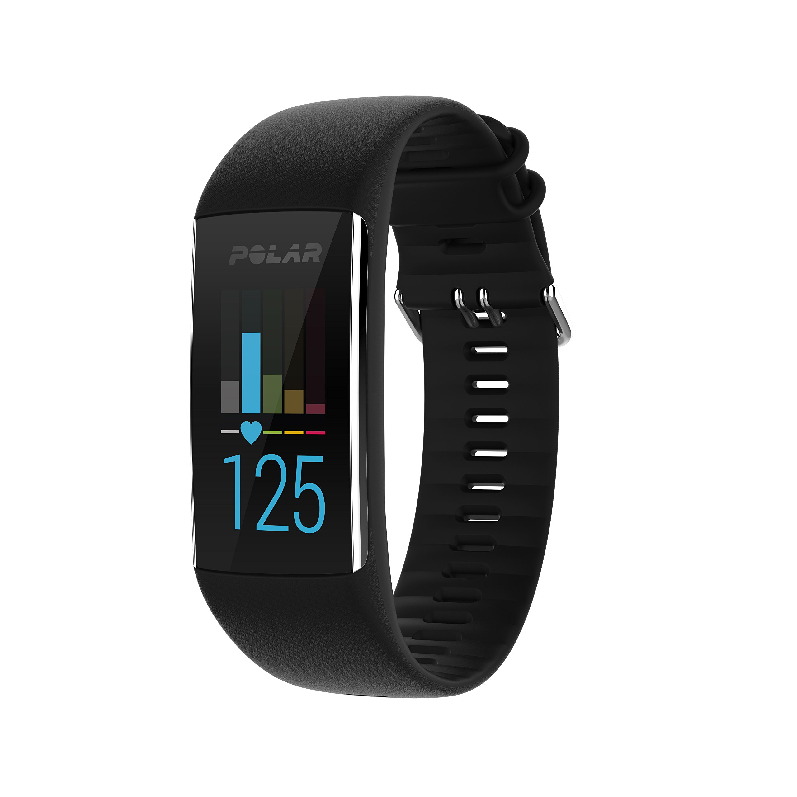 Polar A370 (Black, Medium/Large) GPS Fitness Band BUNDLE with Extra Silicone Band (White) & PlayBetter Portable Power Bank (2200mAh) | On-Wrist Heart Rate, 24/7 Activity Tracker by PlayBetter (Image #2)