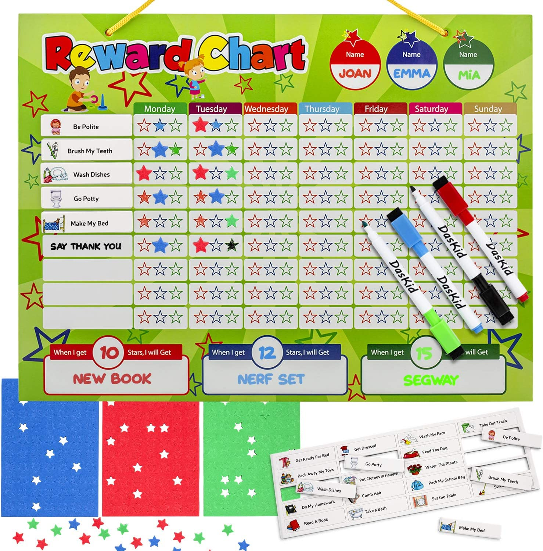 TOY STORY b REWARD CHART free stars /& pen 3 Sizes Magnetic option