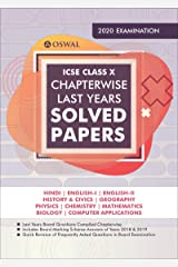 Chapterwise Last 10 Years Solved Papers: ICSE Class 10 for 2020 Examination Kindle Edition