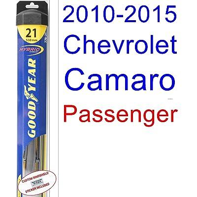 2010-2015 Chevrolet Camaro Wiper Blade (Passenger) (Goodyear Wiper Blades-Hybrid) (2011,2012,2013,2014)