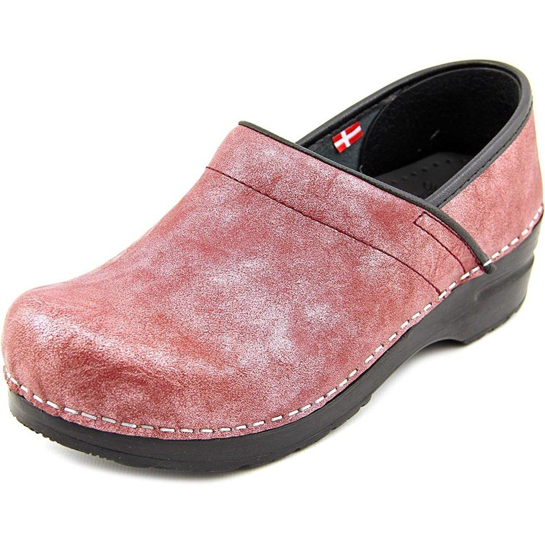 Sanita Margo Women's Bordeaux Leather Clogs US5.5-6 EU36