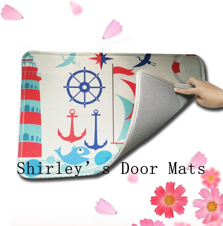 Shirleys Door Mats Custom Personalize Namaste Coir Indoor//Outdoor Doormat Rugs Floor Mat Top Fabric /& Non-Slip Rubber Backing Entryways Carpet 23.6 X 15.7 Inch