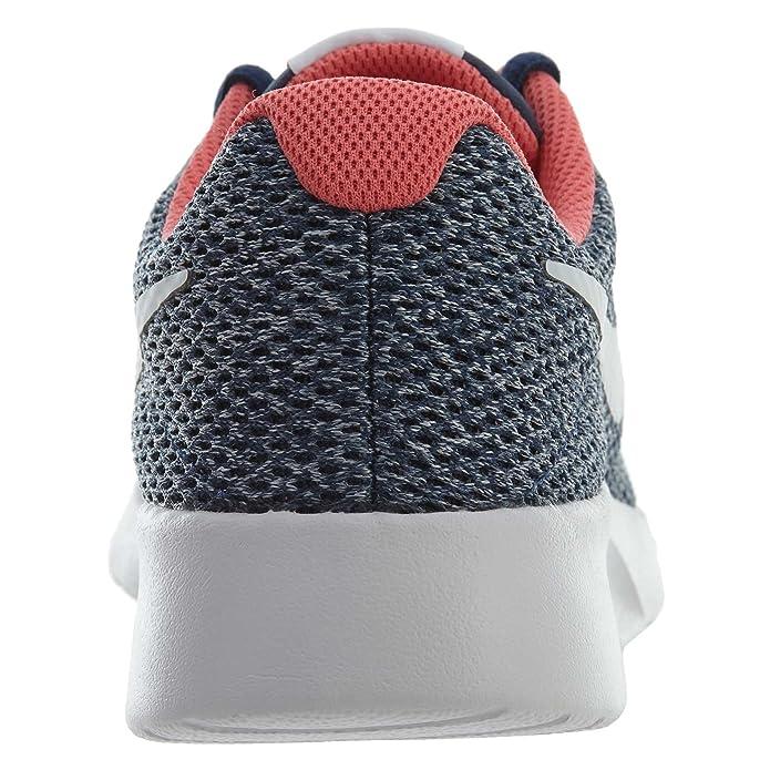 size 40 7580c 3f823 Amazon.com   Nike Tanjun SE Women Sneaker Navy Vast Grey Coral Racer Pink   Fashion  Sneakers